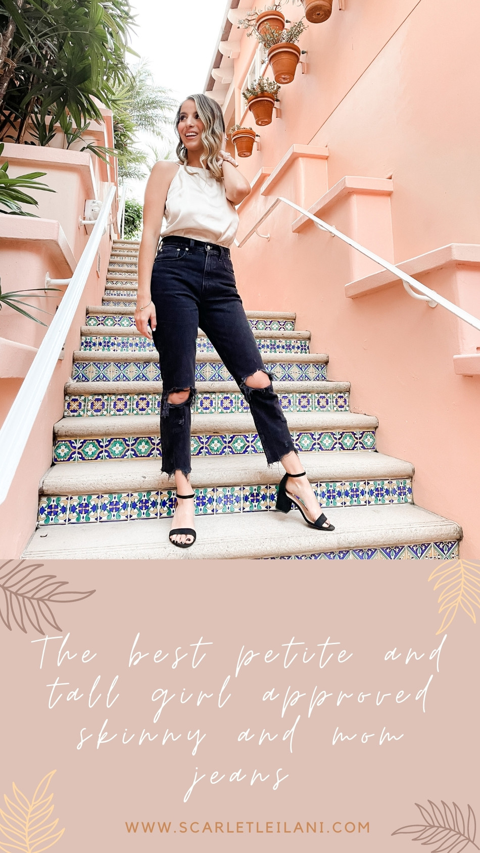 The best petite and tall girl approved mom and skinny jeans