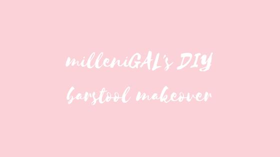 DIY Barstool Makeover