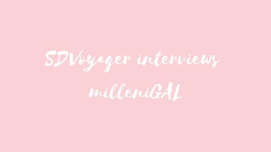 SDVoyager interviews milleniGAL
