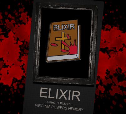 Elixir Short Film Pin