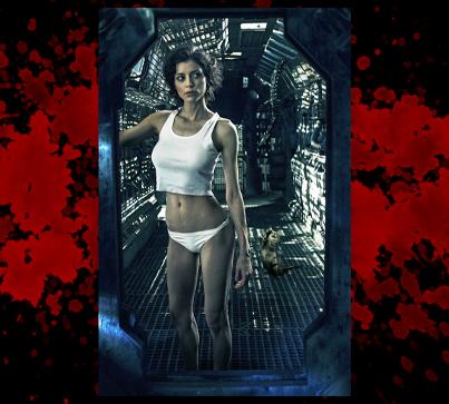 "Poster Print - ""Aliens"""