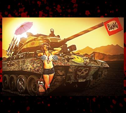 "Poster Print - ""Tank Girl"""