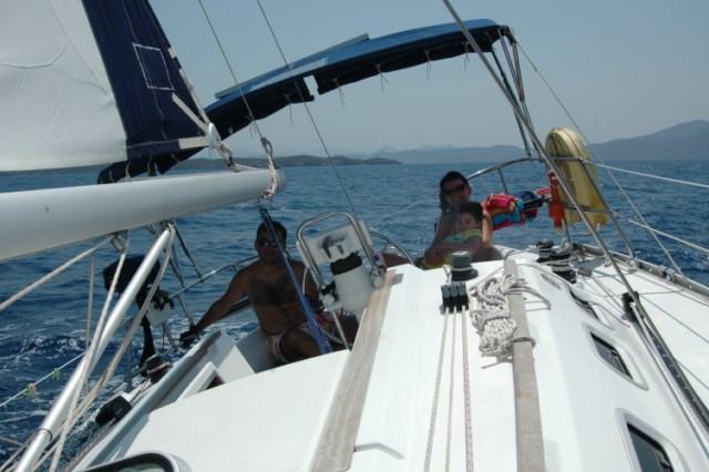 Yelken eğitimi amatör denizci belgesi