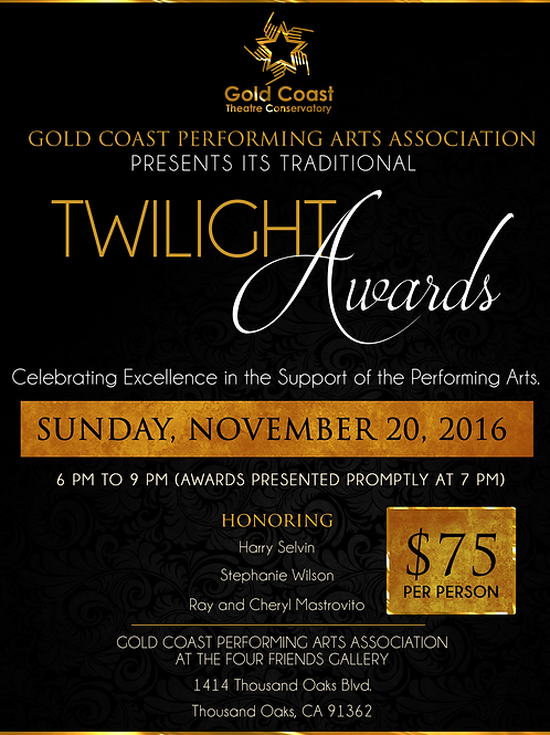 List your name to toast the honorees!