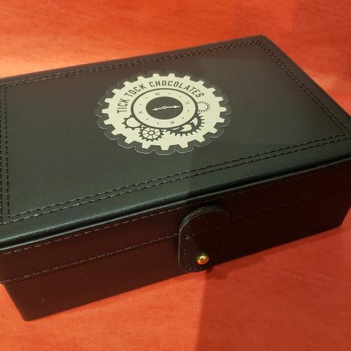 LEATHER 30 PIECE CHOCOLATE BOX
