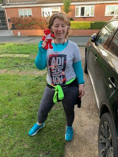 Trustee Rachel runs 55 miles!