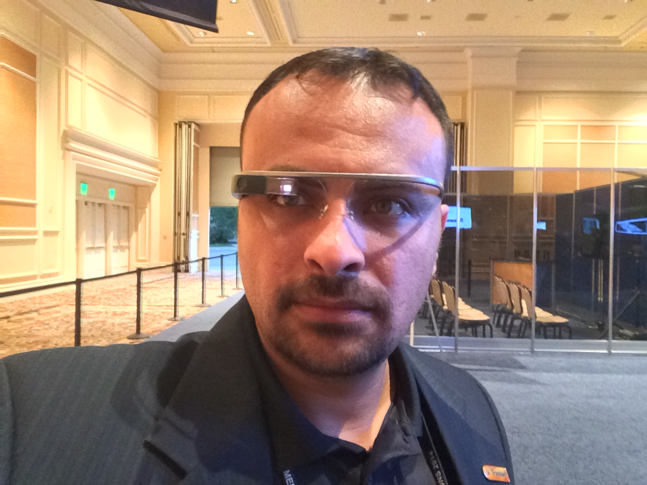 Ahmed Abukhater Google Glasses