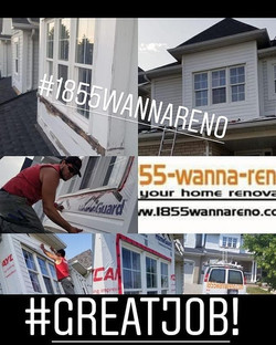 Siding installation in Whitby (Durham, A