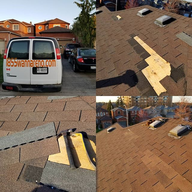 Roof repair done in Ajax