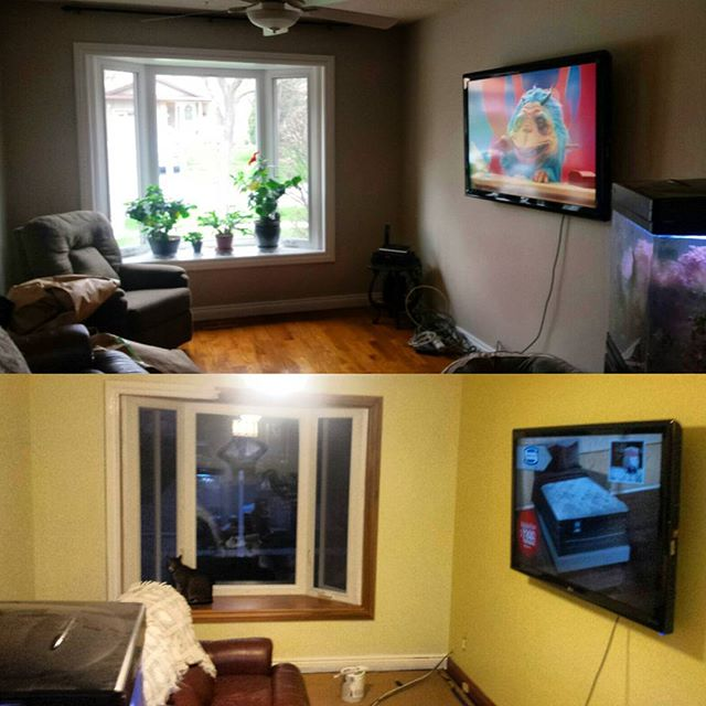 Painting job in Oshawa. ON