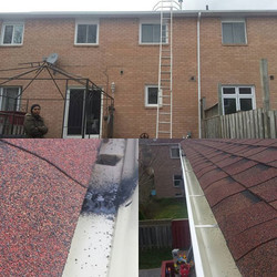 Eavestrough installation and gutter repair in Ajax.ON