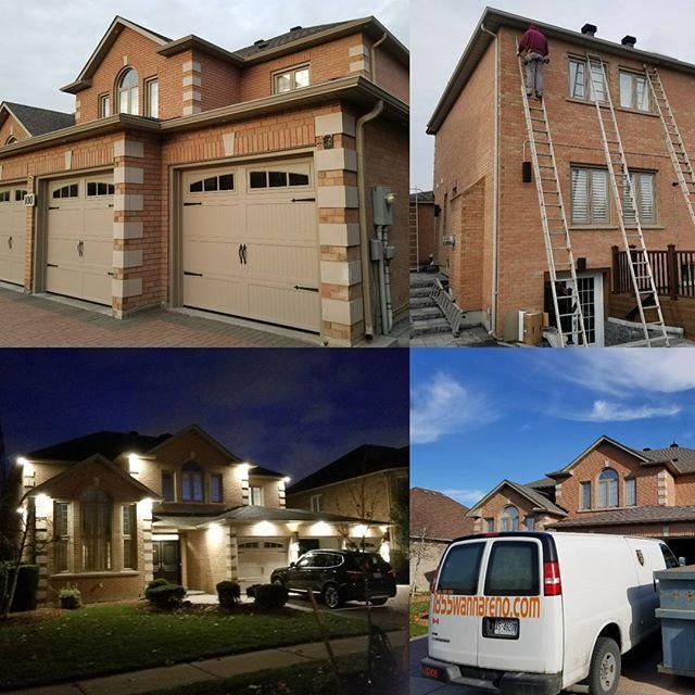Seamless Eavestrough Soffit Fascia and windows in GTA , Whitby, Oshawa,Ajax,Pickering, Toronto, Markham