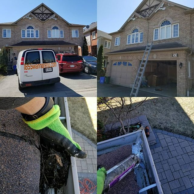 Eavestrough repair, eavestrough cleaning