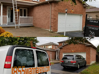 Roof Inspection and leaks repair on a house for sell in Pickering