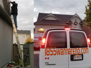 Fascia replacement in Whitby (Brooklin)