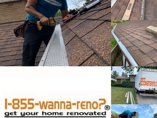 Roof repair, leafguard installation and eavestrough repair-cleaning  in Toronto