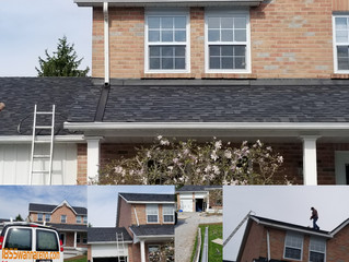 Gutter repair and Eavestrough installation in Uxbridge.ON