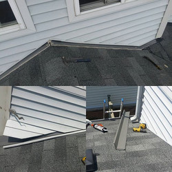 Siding repair, Roof repair and Flashing installation in Whitby