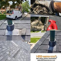 Roof repair,eavestrough repair clean