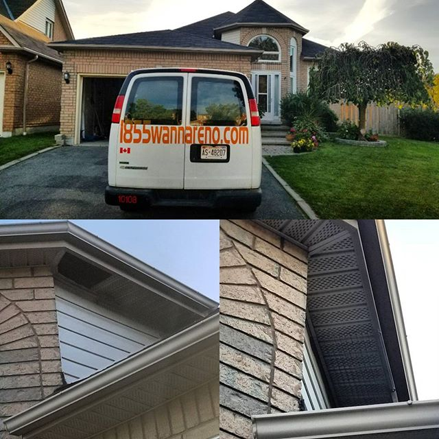 Soffit repair in Whitby. #soffit #soffitwhitby #soffitrepair #soffitrepairwhitby www.1855wannareno