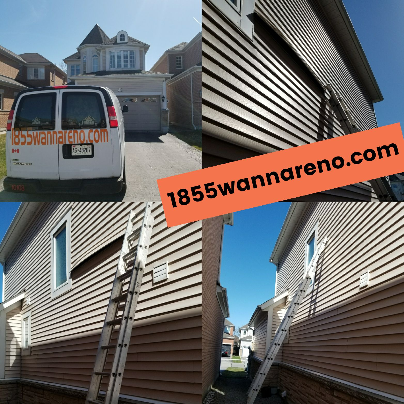 Siding repair in Whitby