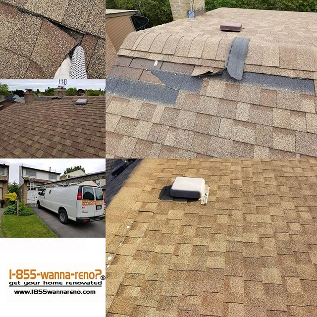 Roof repair in Ajax