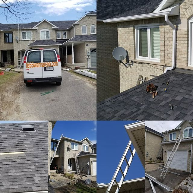 Eavestrough ,Roof repair Pickering