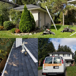 eavestrough and leafguard install