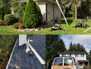 Eavestrough installaction and Leafguard : are we still in time?