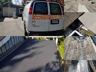 Flat roof and Eavestrough repair in Whitby: Leaks and more