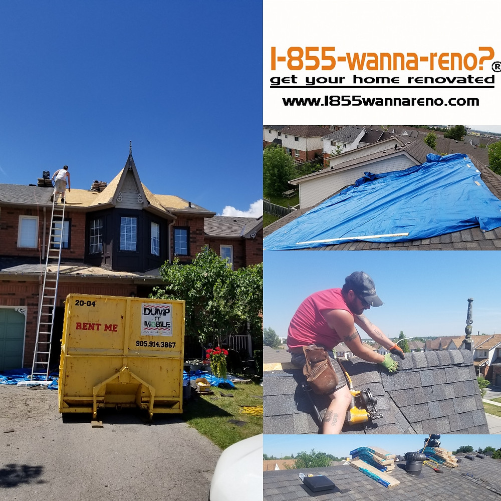 Landmark shingles replacement in Whitby