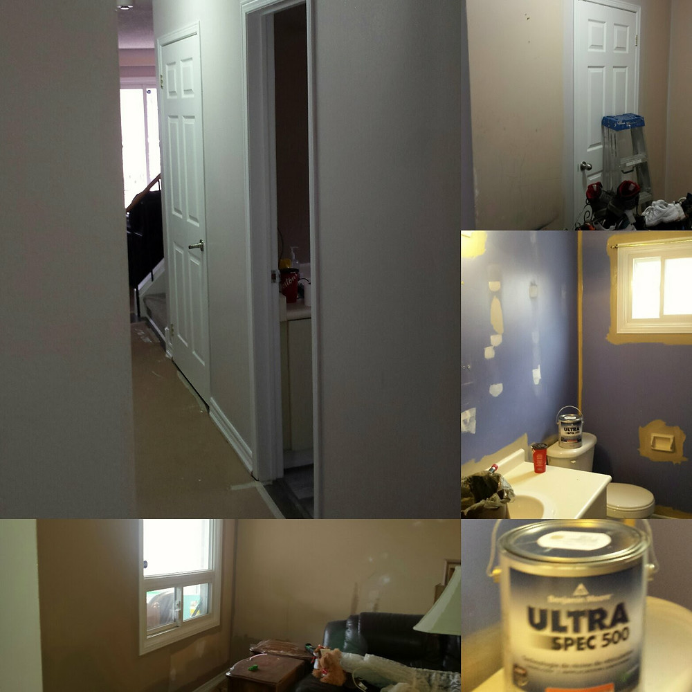 Residential painting job done  by 1-855-wanna-reno? | Painting Whitby