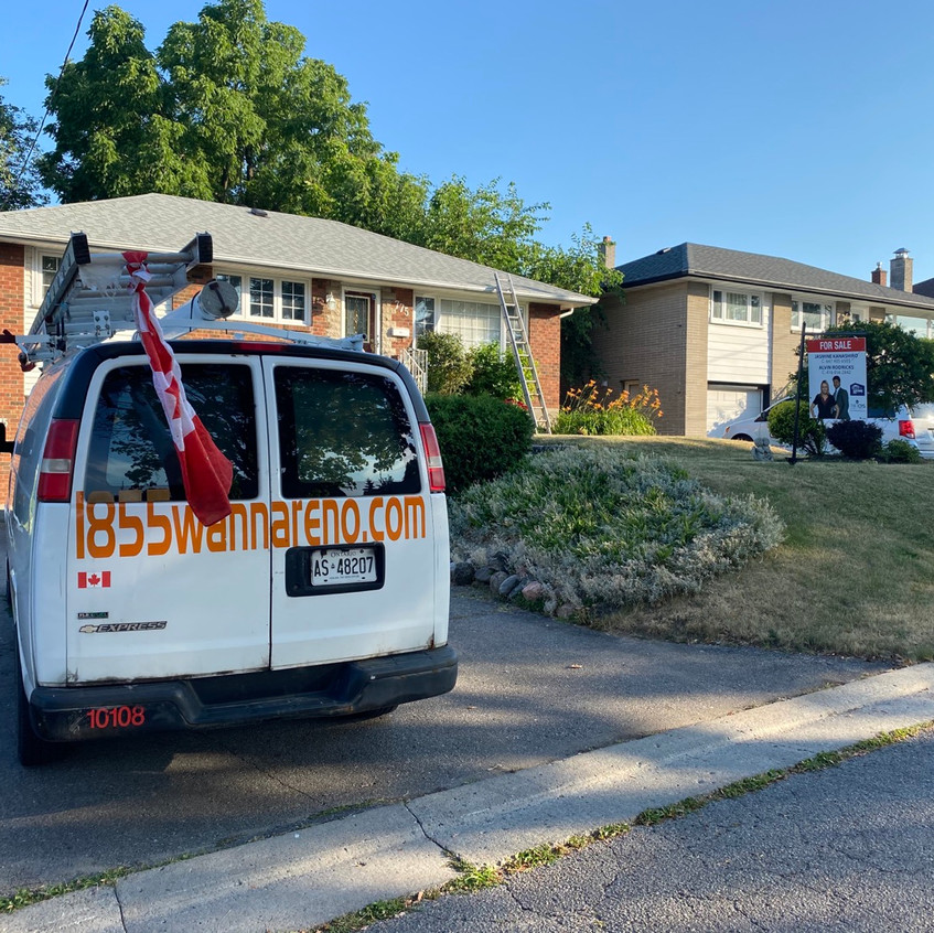Eavestrough repair cleaning and installation in Oshawa