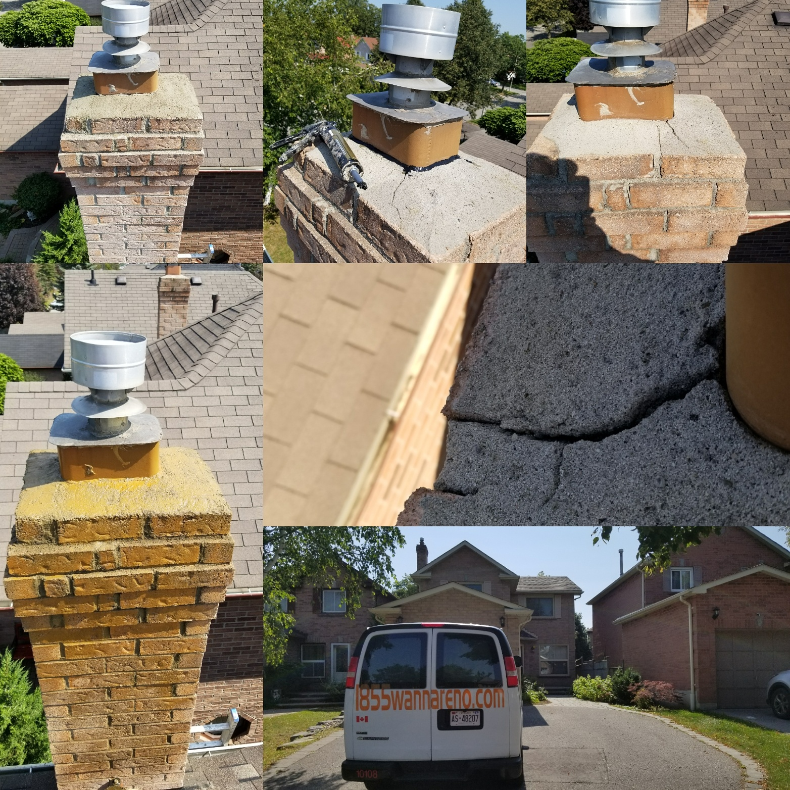 Chimney repair in Ajax