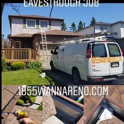 Eavestrough repair Oshawa
