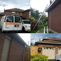 Eavestrough, Soffit and fascia installation in Ajax