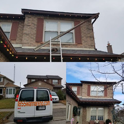 #Eavestrough installation in Whitby