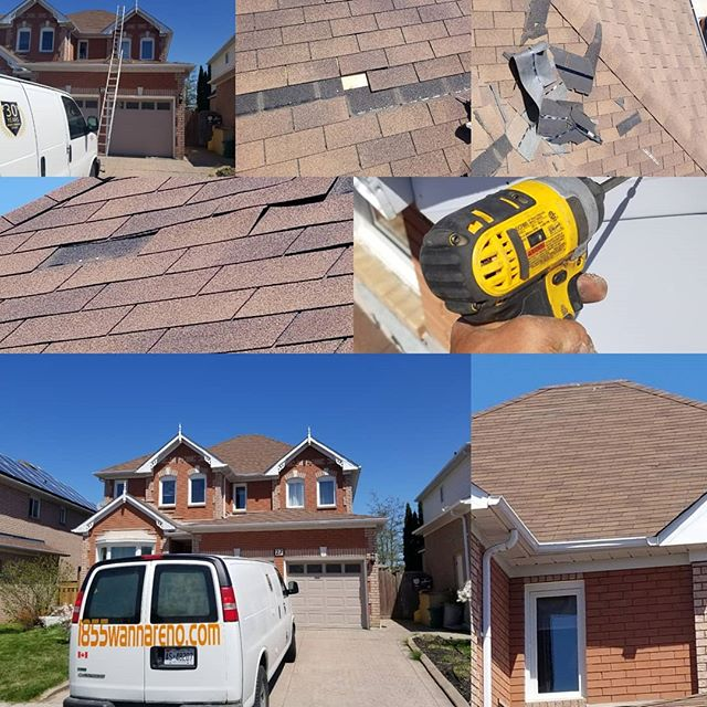 Roof repair in Whitby