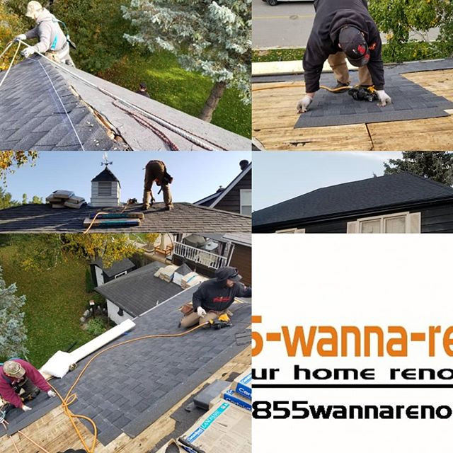 Roof shingle replacement new roof in Whitby Oshawa Ajax Pickering