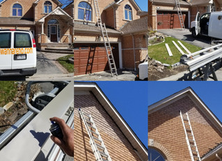 Wood Flashing and capping installation installation in Ajax Whitby Oshawa Pickering