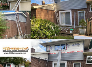 Siding installation in Greater Toronto Area - Durham.ON