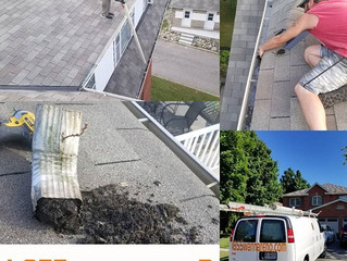 Eavestrough repair and Cleaning in Durham