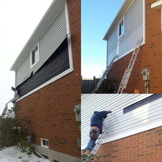 Siding Repair in Bowmanville