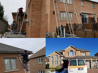 Soffit Fascia Eavestrough & Windows job in the GTA