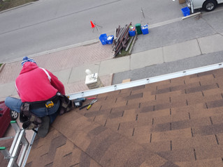 Eavestrough (Gutter) installation : Positioning your Eavestrough