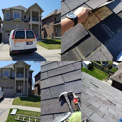 Roof repair and fascia installation in W