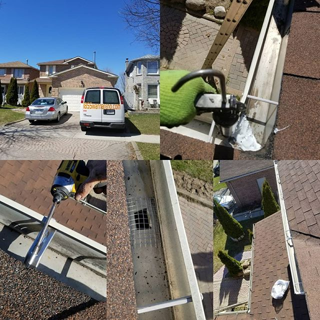 Eavestrough repair and cleaning in A