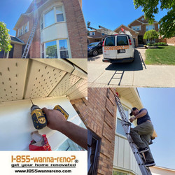 Soffit and fascia  installation in  Cour