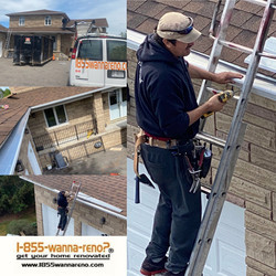 Eavestrough instal,leafguard,gutter cleaning in Whitby gutter