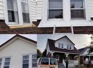 Windows capping and eavestrough installation I Oshawa